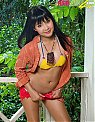 hot asian chick outdoor